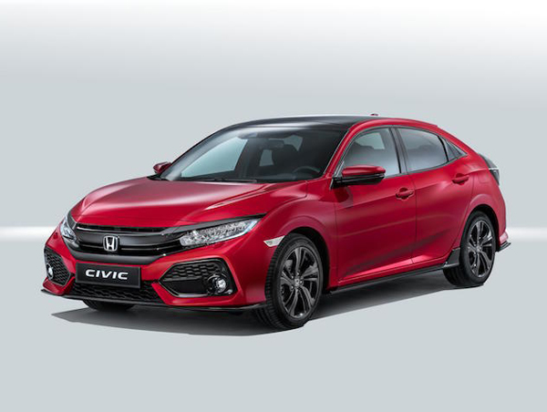 Honda reveals tenth-generation Civic