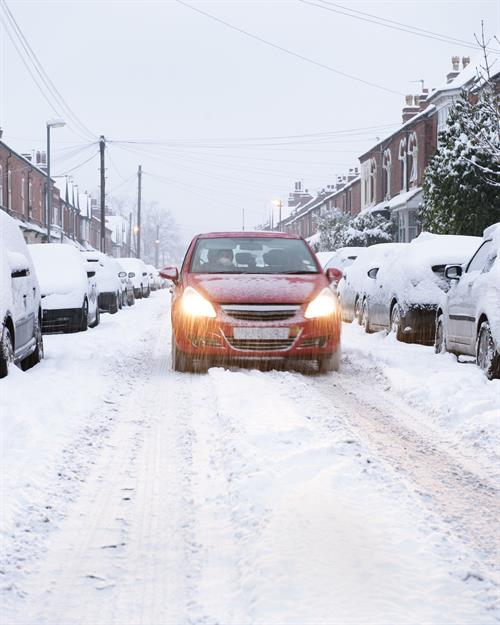 Warning to check tyres ahead of snowfall