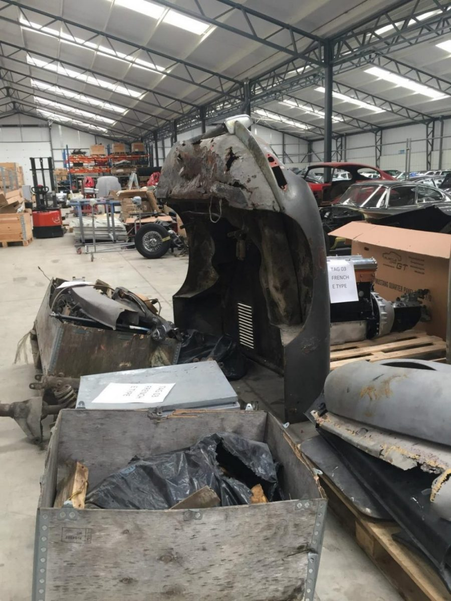 1961 Jaguar E-Type Chassis 875256 to be restored by Classic Motor Cars_1