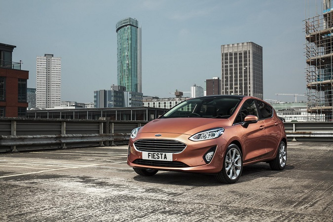 New Ford Fiesta arrives in Britain