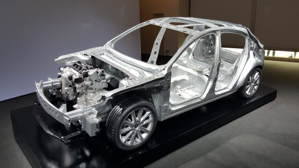 Mazda SkyActiv-X platform to go with steel, not aluminium, to save weight