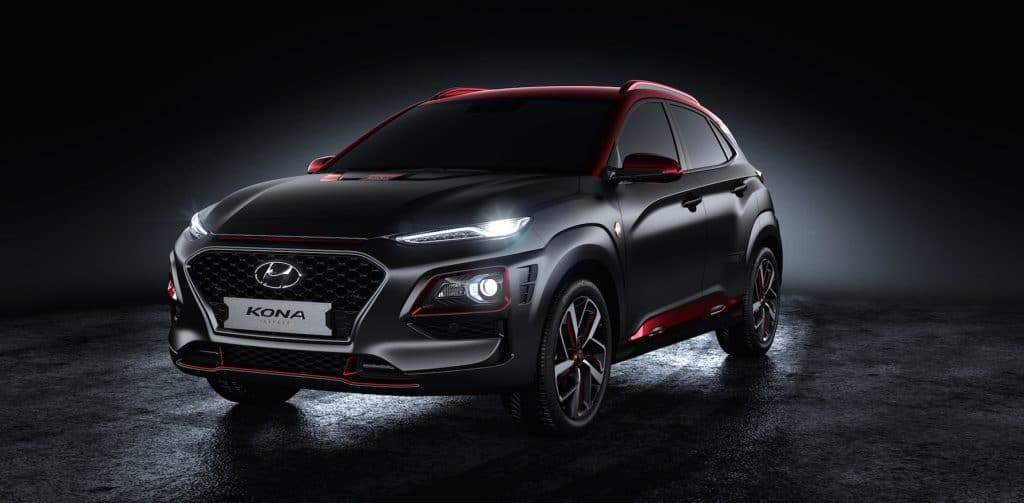 Hyundai unveils the Kona Iron Man Edition