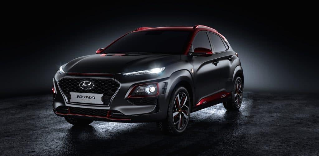 Hyundai unveils the Kona Iron Man Edition