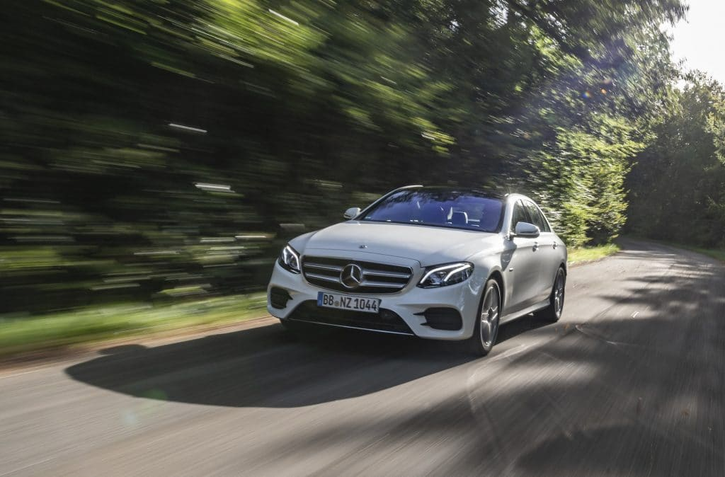 Mercedes E-Class diesel plug-in hybrid now available to order