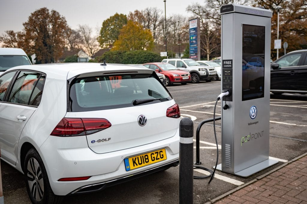 UK's largest retail network of EV chargers set to be rolled out across Tesco stores