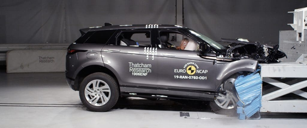 Range Rover Evoque and Citroen C5 Aircross receive top ratings from Euro NCAP