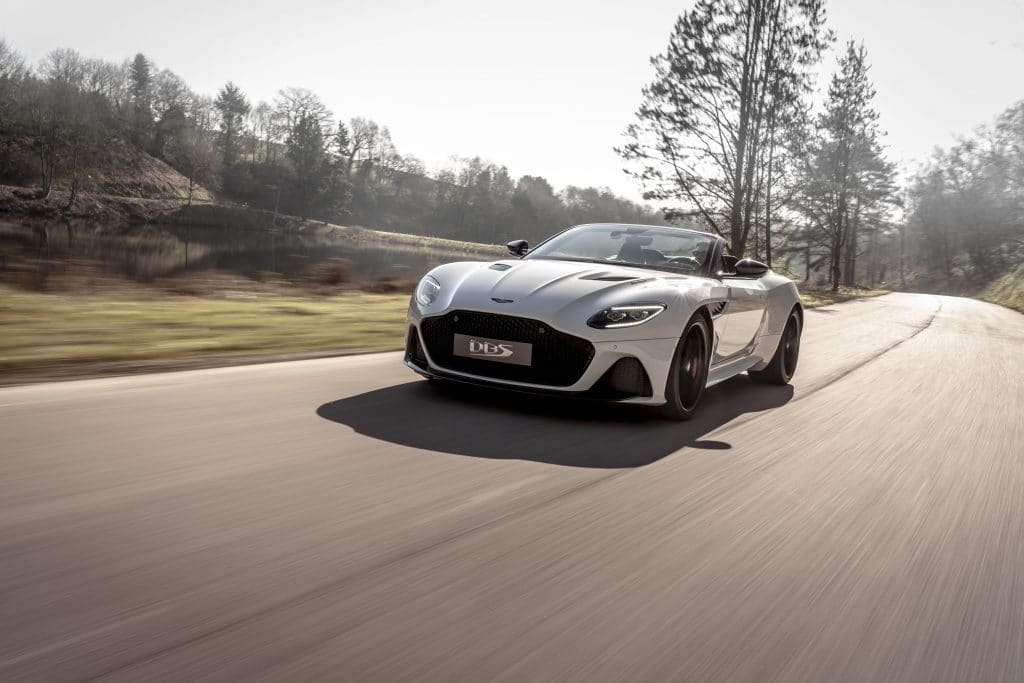Aston Martin reveals DBS Superleggera Volante