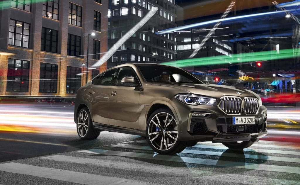 BMW reveals new-generation X6