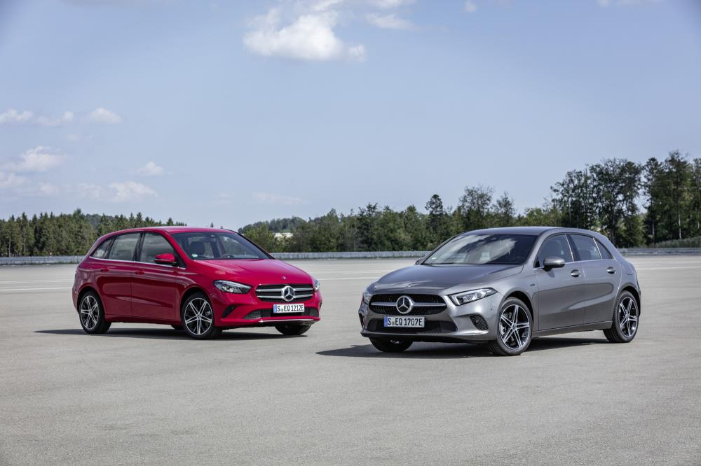 Mercedes adds plug-in hybrid powertrains to A and B Class line-up