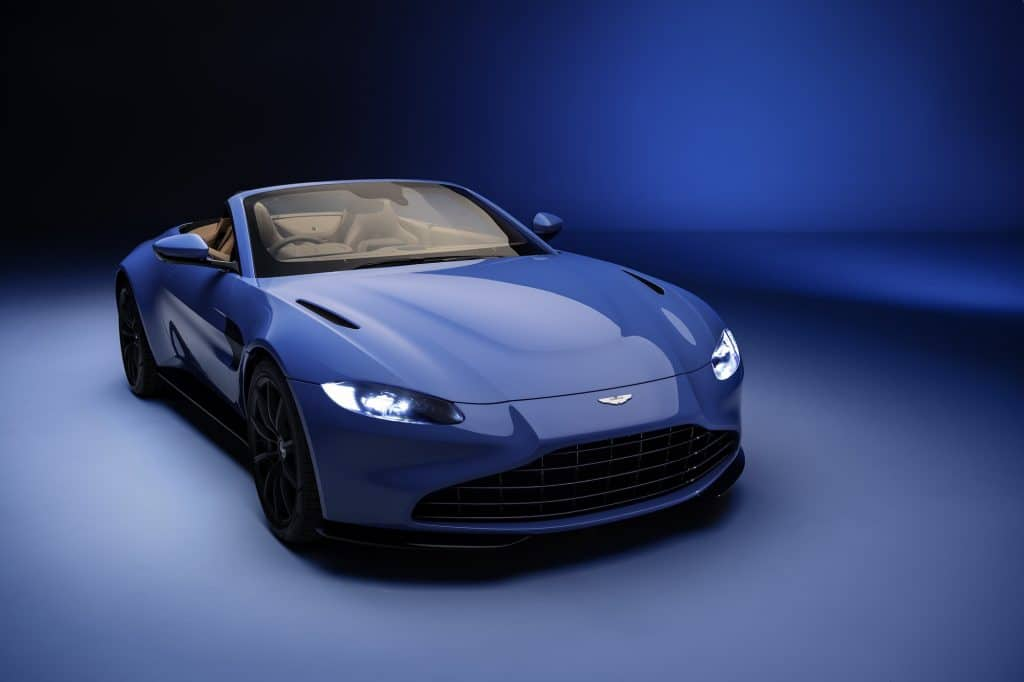 Aston Martin reveals sleek new Vantage Roadster