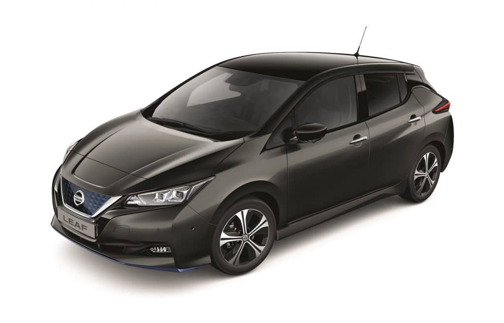 Nissan reveals limited edition trim level for long-range e+
