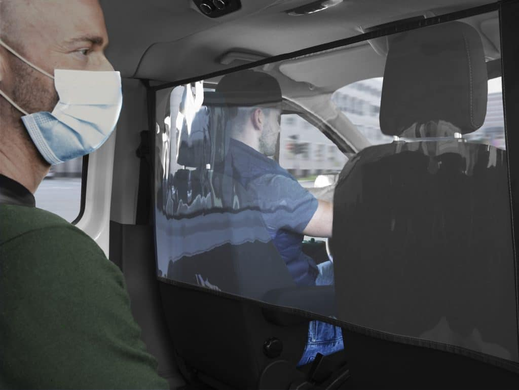 Ford offers protective screens for Transit and Tourneo