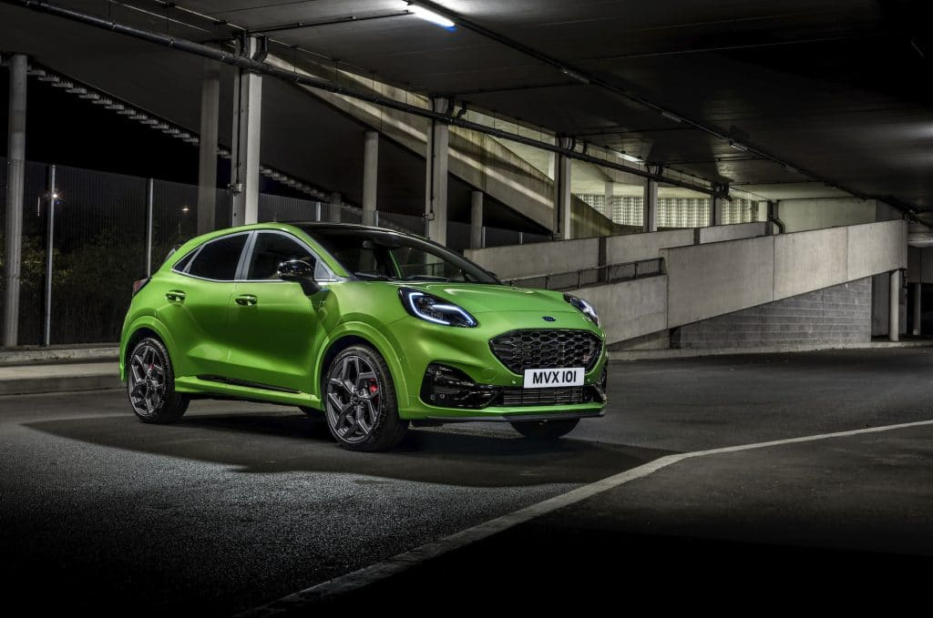 Hot new Ford Puma ST crossover unveiled